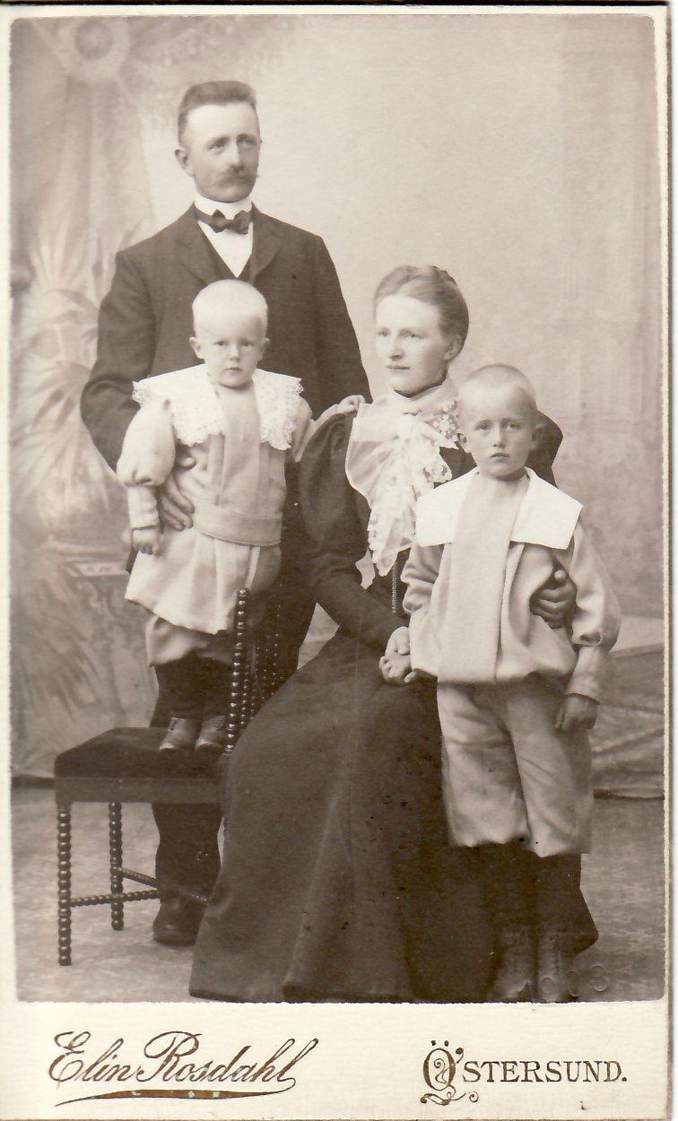 Familjen år 1907