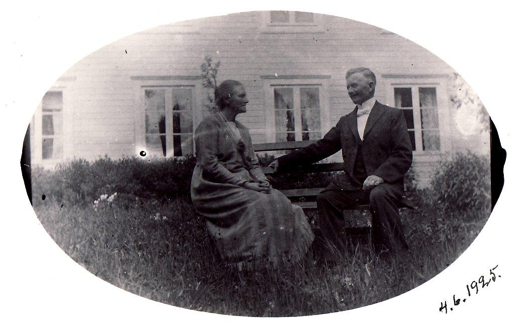 Karin och Hans år 1925
