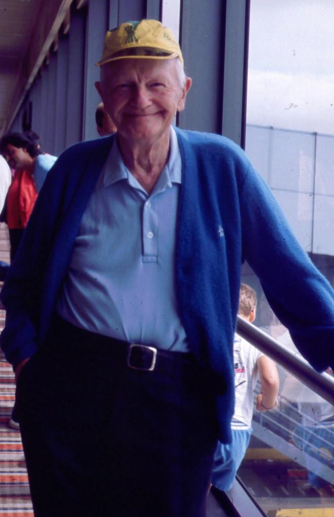 Martin Hanson 84 år