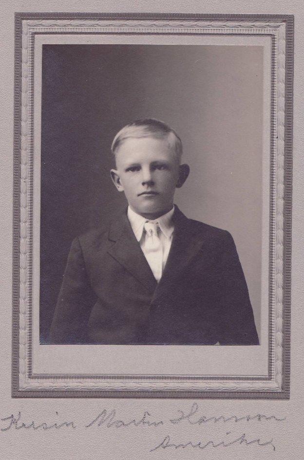 Martin år 1917