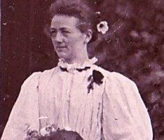 Brita vid Kläppebröllopet 1897