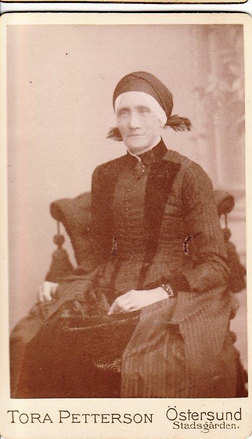 Brita Kristina något eller några år före sin död 1916