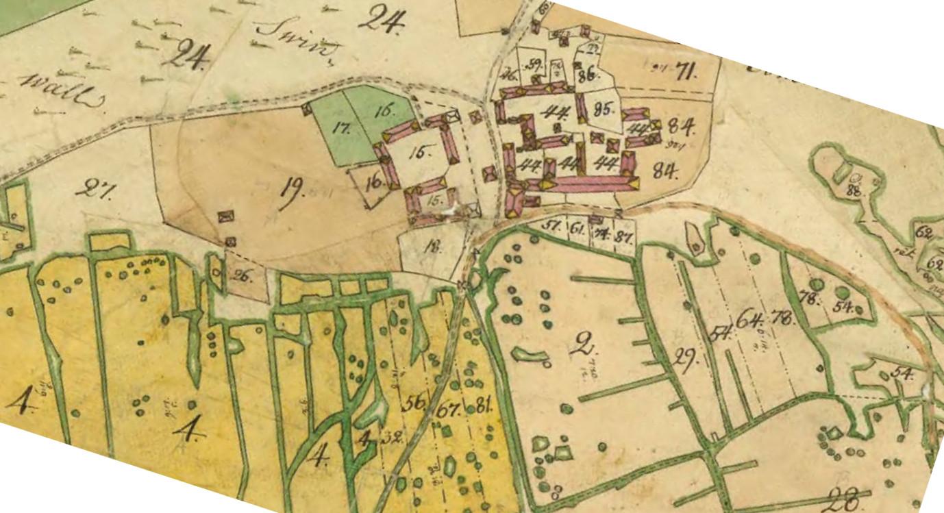 Hagsta by år 1765