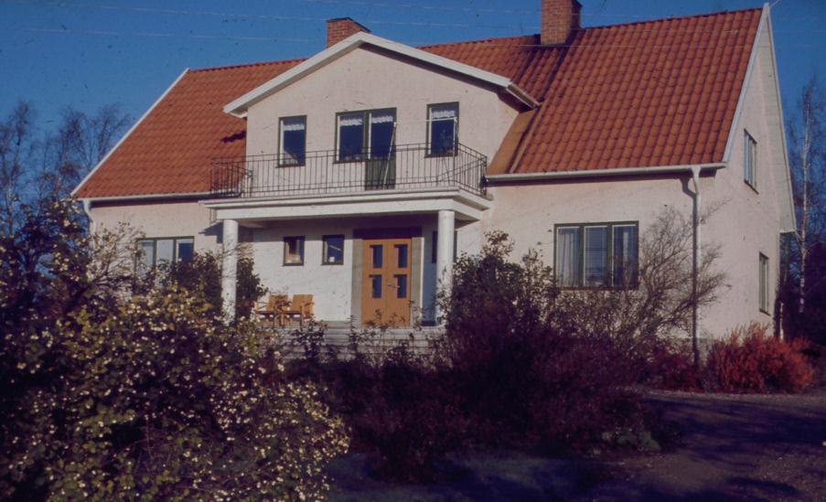 Nya mangårdbyggnaden från 1950