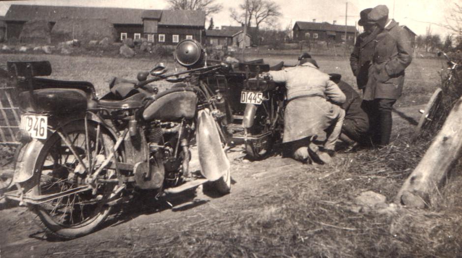 Hela gårdsbilden på Hagsta 1:2 år 1922