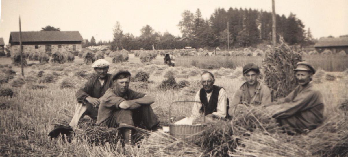Hagstas stenlagård 20-30-tal