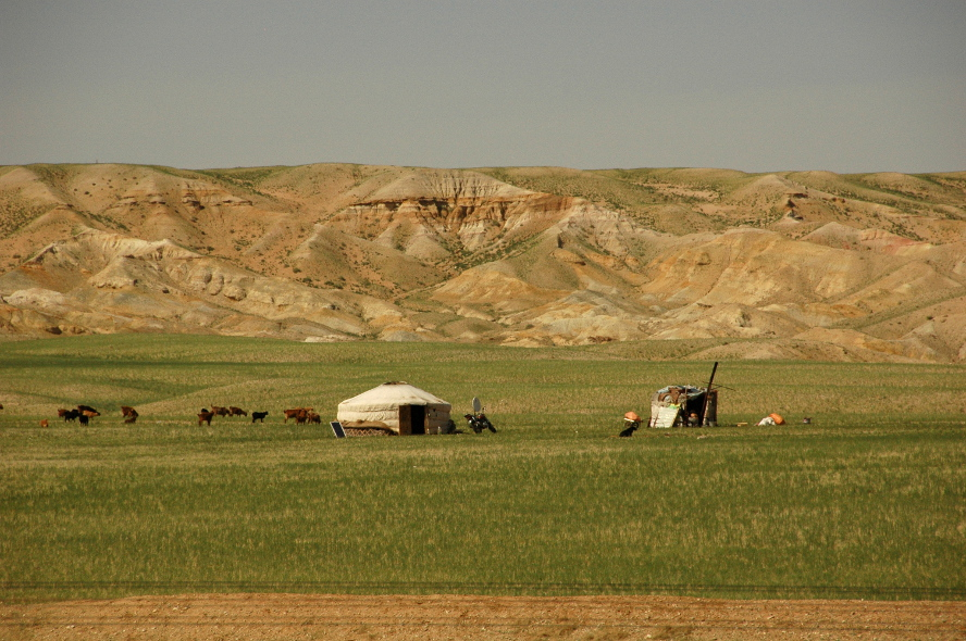 Gård i Gobi