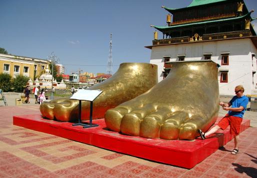 Buddas fötter