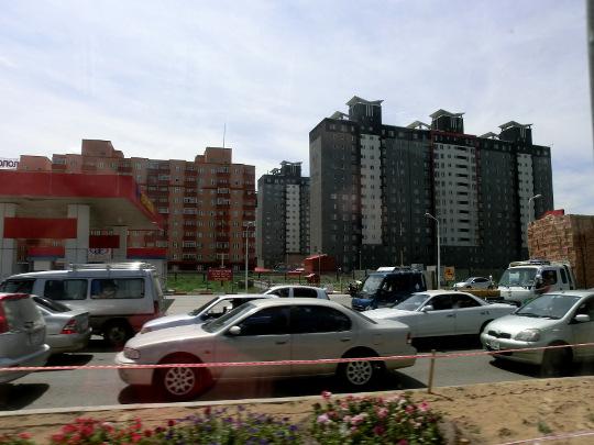 Nytt bostadsområde