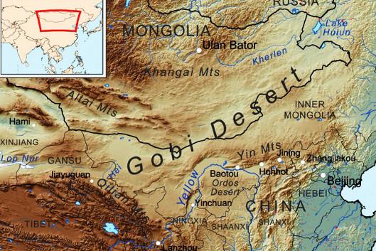 Gobi och norra Kina