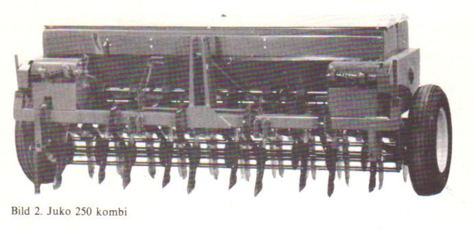 Juko 250 kombisåmaskin