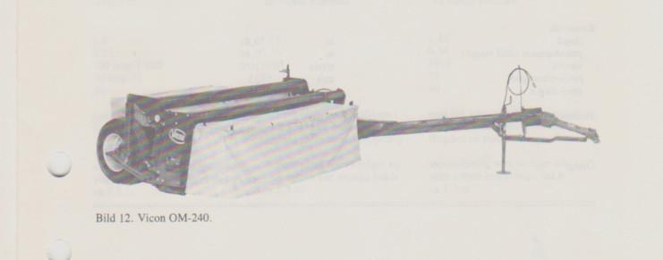 Vicon 240 bogs rotorslåtter med crimper