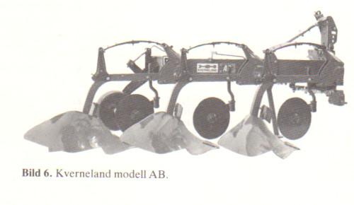 Kverneland tegplog 3 x 14 tum