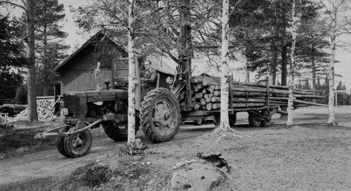Farmall H -48 köpt 16.9.1960