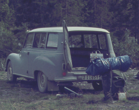 DKW F94 estate 3-cyl 2-takt -58 40 hk