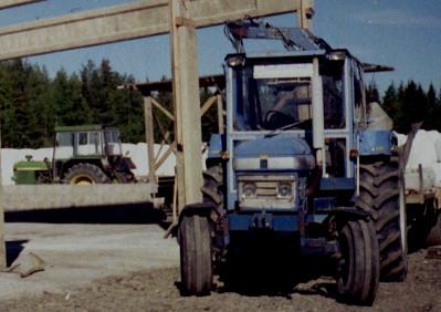 JD 3130 och stentraktorn