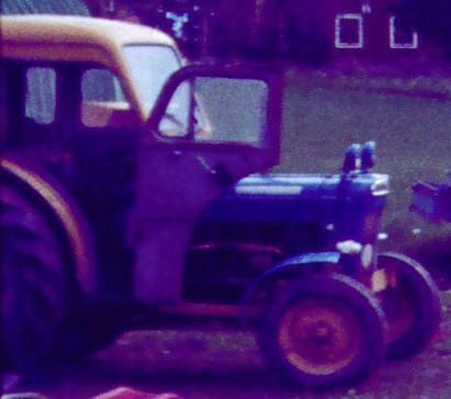 Lilltraktorn Fordson Super Dexta -54