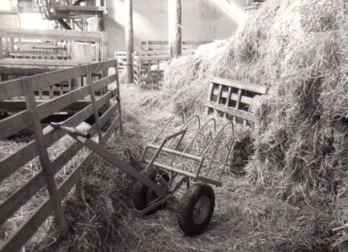 Grovfoder med hjulgrabb