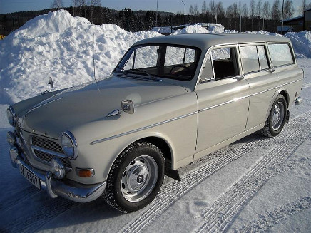 Volvo Amazon kombi 60-tal, 75 hk