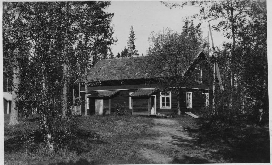 Här byggde Emma och Magnus Johansson