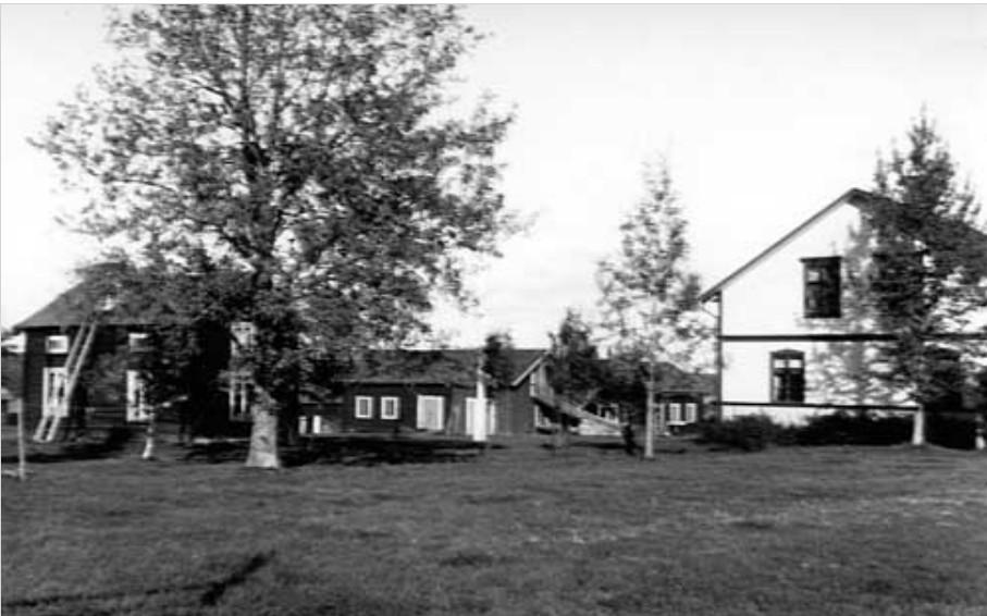 Brita-Katarina Larssons gård sep 1920
