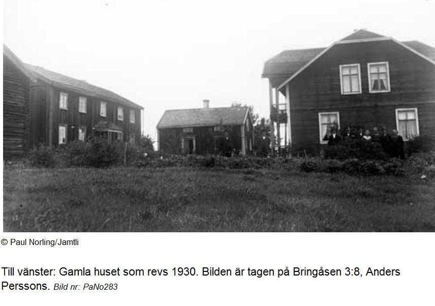 Gårdstunet år 1925