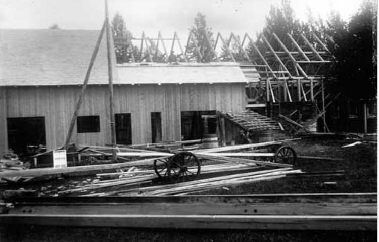 Ny lagård byggs 1927