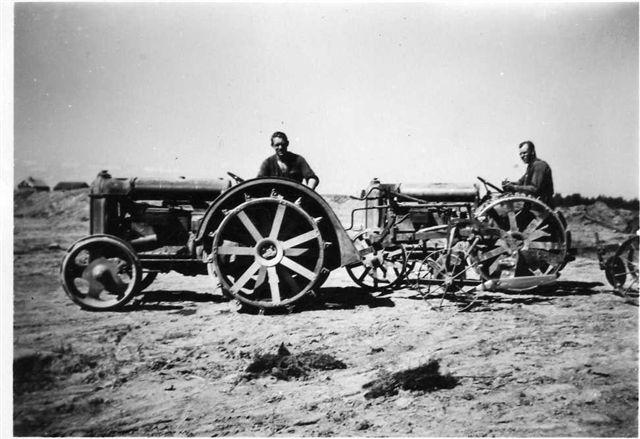 Pappas traktor 1937