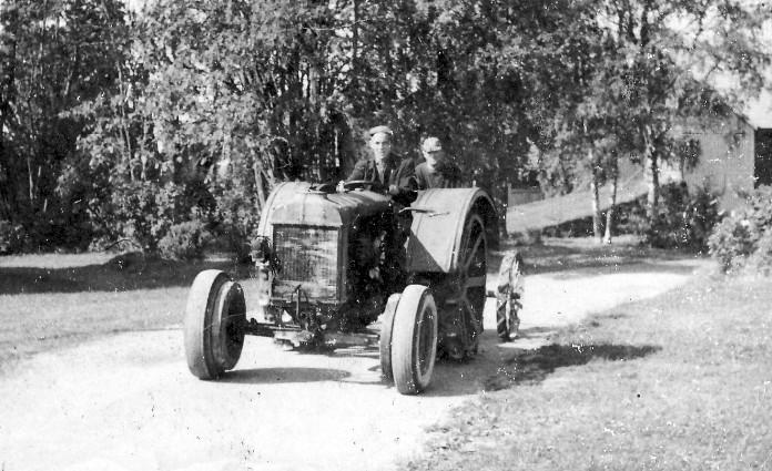 Jag och pappa 1960