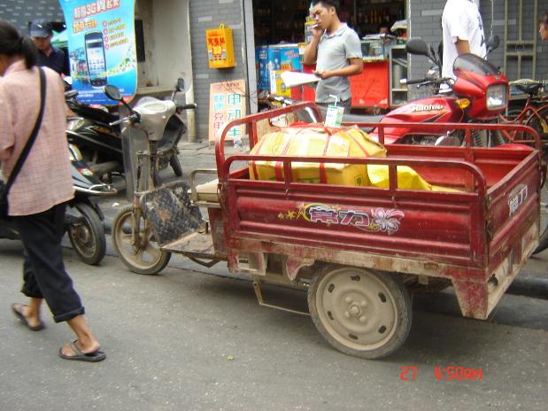 Lätt elbil i Kina