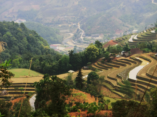 Berg i Nordvietnam 2012