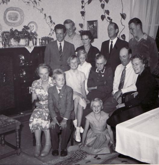 Nisses 50-årsdag 1957