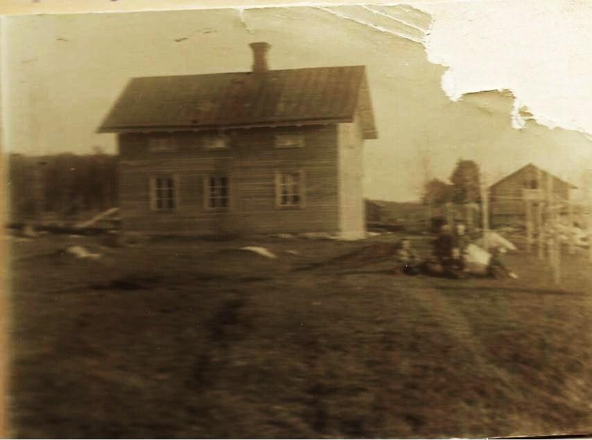 Nybbygget Katrinehill våren 1906
