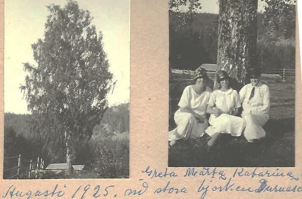 Systrarna från Dusnäset 1925