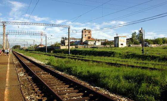 Stationen Angarsk